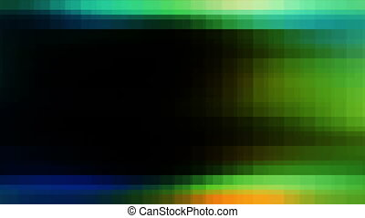 Multicolored Squared Loop NH1N - Animated Background...