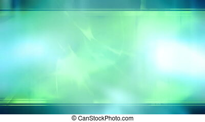 Template style X774 Loop - Blue green template style looping...