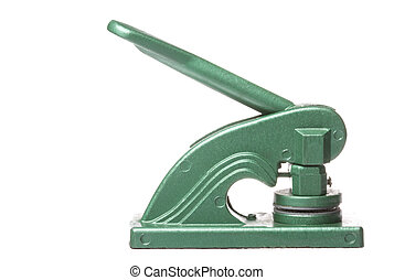 Common Seal Devise Isolated - Isolated image of a devise for...