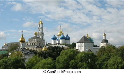 Trinity Lavra of Saint Sergius in Sergiev Posad city,...