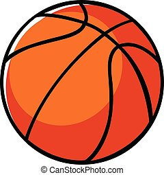 Basket Ball - Doodle illustration of a basket ball