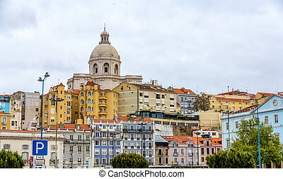 Church of Santa Engracia (National Pantheon) in Lisbon,...