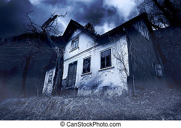 Abandoned Haunted House