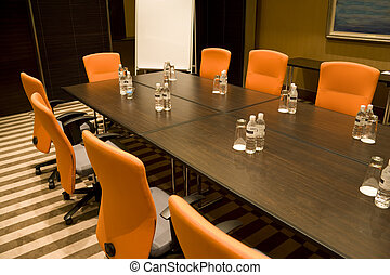 Modern Meeting Room - Image of a modern meeting room.