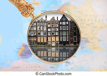 Looking in on Amsterdam