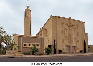 天主教徒,  Albuquerque, 教堂, 新, 墨西哥
