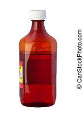 tos, jarabe, Medicina, botella