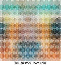bright abstract background polygons - Bright a colorful...