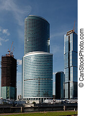Corporate Buildings - New corporate buildings on the banks...