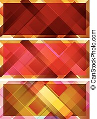 abstract background, intersected rectangles