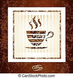 coffee cup vector background