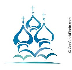 russian orthodox church, christianity symbol