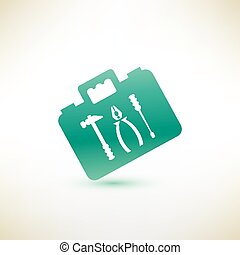 toolkit vector icon