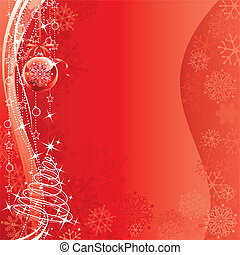Christmas Decorations design of vector illustration layered....