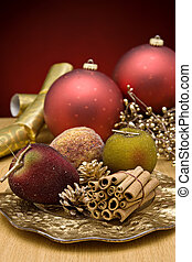 Christmas Cinnamon and decorations - Christmas decorations...