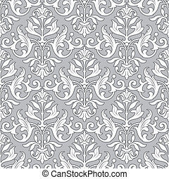 Classic floral pattern - seamless wallpaper - Classic...