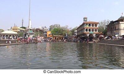 Ram Ghat at Godavari River Bank, Nasik, Maharashtra