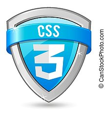Blue shield CSS 3