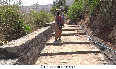 Women Labourer - Some,Women are hard working in hills