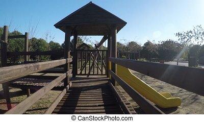 Wooden Playground