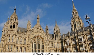 The big Palace of Westminster in Lindon the Palace lies on...
