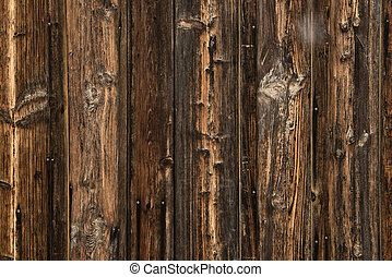 Wood texture – very old and worn wooden planks