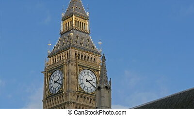 The Big Ben clock in Westminster Abbey The big tower clock...