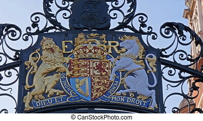 A logo of E R from the Palace of Westminster The logo image...