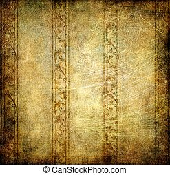 Vintage Decorative Background With