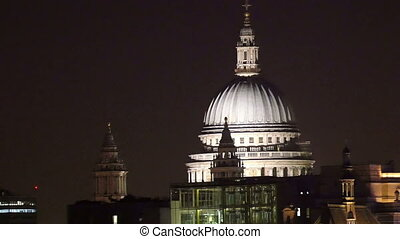 St Pauls Cathedral at night in London St Pauls Cathedral...