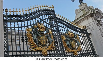 The royal gate has finally opened in the Buckingham Palace...