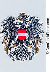 austria, national coat of arms - the austrian national coat...