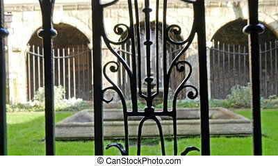 Getting inside the gate of the Westminster abbey there found...
