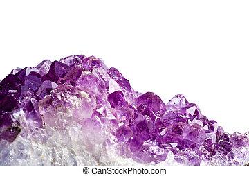 Amethyst - An Amethyst raw Natural stone