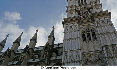 The historic Westminster Abbey in London Westminster Abbey...