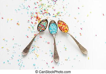 sprinkle a teaspoon