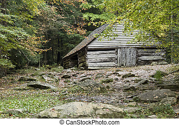 Historic Stable - An outbuilding on the Ogle Farm, along the...