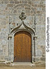igreja, PORTA,