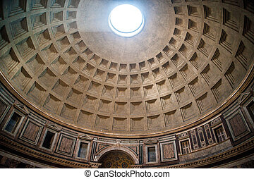 Pantheon, Rome - Interior of Pantheon in Rome One of the...