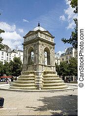 La fontaine des innocents in Paris