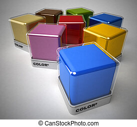 Color collection - Design color blocks in a variety of...