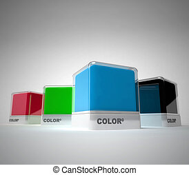 Color swatch block - Design color blocks in a variety of...