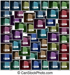Color choice - Design color blocks in a variety of colors