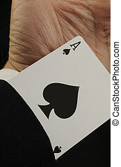 Ace of Spades - Card up Sleeve
