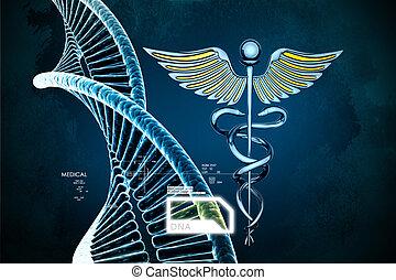 Simbolo, medico, Caduceo