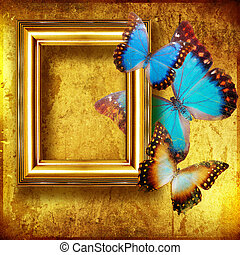Decorative Artistic Background with