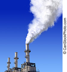 atmospheric air pollution - a view of atmospheric air...