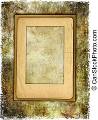 Vintage background With Frame - Artwork in Retro Style.