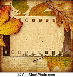 Artistic Background With clip-art