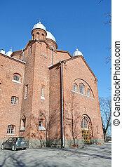Church Lappeenranta. - Church Lappeenranta - Lutheran church...